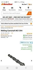 Engine Camshaft-Stock Melling MC1394