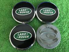 4x LAND ROVER ALLOY WHEEL CENTRE CAPS DISCOVERY FREELANDER RANGE EVOQUE 63mm