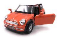 Mini Cooper Maquette de Voiture avec Wunschkennzeichen Orange Échelle 1:3 4-39