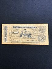 Facsimile 1863 Bank Of Chattanooga $ 2 Banknote