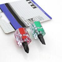 2Pcs/Set Mini Short Stubby Phillips Slotted Screwdriver Tool Kit Set Useful
