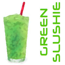 Green Slushie Concentrate (Lime/Fruit/Menthol) 30ml FlavourMeister *NEW RECIPE*