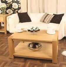 Contemporary Oak Dining Room Coffee Tables