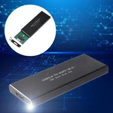 USB3.0 zu M, 2 NGFF SSD SATA Festplatte Externes Gehäuse Fall Festplattengehäuse