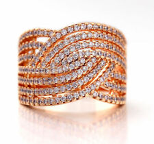 Gold Filled Diamond Band Fashion Rings