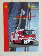 Ziegler Feuerwehr HLF 48/25-5 auf MB 1835 Actros - Prospekt Brochure 06.2000