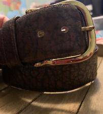 Buffalo Belt Size 32 Leather
