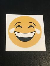 Crying Smiling Happy Face Temporary Body Tattoo