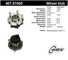 Wheel Bearing and Hub Assembly-Premium Hubs Rear Centric 407.51000