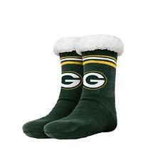 Green Bay Packers para mujer a rayas con el logotipo de alto Fútbol Zapatillas Tamaño 6-10 nuevo no antideslizante
