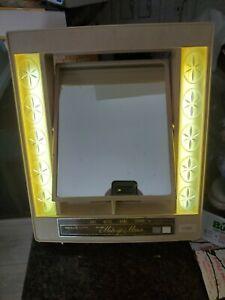 GE Makeup Deluxe Makeup Mirror 4 Way Vintage Good Working Cond Used