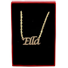 Ella - Gold Name Necklace - Personalized Jewellery - Bridesmaid Wedding Gifts