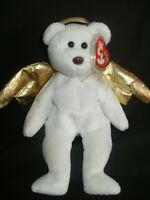 TY BEANIE BABY HALO II - ANGEL BEAR - MINT - RETIRED