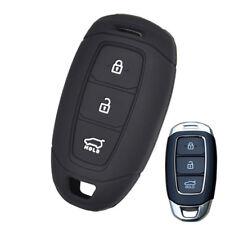For Hyundai i30 Azera Elantra Grandeur Silicone Key Cover Case Fob 3 Button