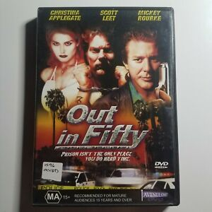 Out in Fifty | DVD Movie | Psychological Thriller | 1999 | Mickey Rourke| PAL