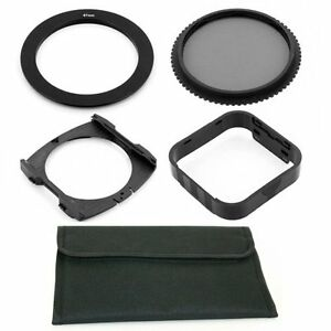 67mm Adapter Ring,CPL Filter,Wide Holder,Hood,Pouch fo Cokin P Series System,USA