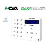 COMBINATORE TELEFONICO GSM TOUCH 6 IN 1 2 USCITE SICUREZZA ALLARME CASA CIA