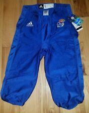 Boys Youth Adidas Kansas Jayhawks Football Pants New Size Large