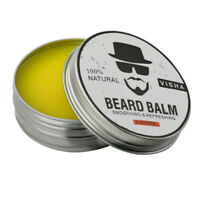 2 oz Orange Beard Balm 100% Natural Mustache WAX Beard Conditioner For Men