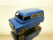 "LESNEY #25 BEDFORD VAN - DUNLOP - BLUE ""MATCHBOX"" - GOOD CONDITION"