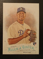 2016 Topps Allen & Ginter Full Size Rookie - FRANKIE MONTAS Los Angeles Dodgers