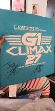 New Japan Pro-Wrestling G1 Climax 27 bonus cushion Japanese Wrestler sports F/S