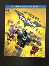 THE LEGO BATMAN MOVIE DC Lego Blu Ray+DVD+Digital HD Brand New Factory Sealed