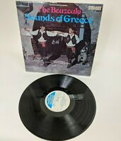 The Bouzouki Sounds of Greece Record LP Jannis Markopoulos 1967 England 6870-514