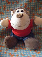"TJM Ltd create a bear Brown Monkey Soft Cuddly Toy 10"" approx preloved"