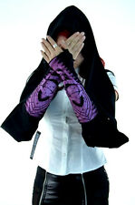 LIP SERVICE SCARF SCARVE PUNK GOTHIC GLOVES ARM WARMERS CYBER RAVE TECHNO L/XL
