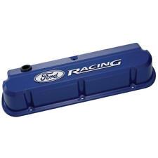 Proform 302-136 Slant Edge Ford Ford SB Tall Blue Cast Aluminum Valve Covers
