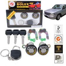 For 1998-2005 Ford Courier Ranger Bravo Solex 2 Door Lock Security Key Cylinder