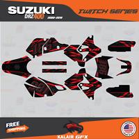 SUZUKI DRZ400 DRZ400S Z400 E GRAPHICS KIT CREATORX FBWBL