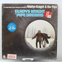 Gladys Knight Pipe Dreams Pips Vintage Vinyl Record LP VG+ BDS 5676 ST