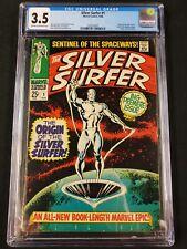 Silver Surfer #1 CGC 3.5 Origin of the Silver Surfer! 1968