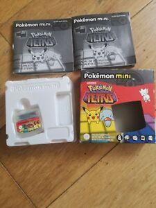 Pokemon Mini Tetris Boxed PAL Complete European Nintendo