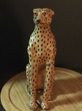 African Handmade Leopard in excellent condition