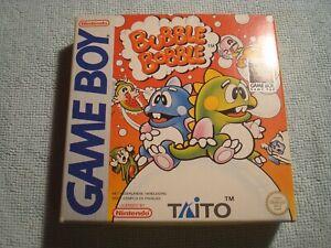 BUBBLE BOBBLE - Nintendo Game Boy - CIB // COMPLET // Fah