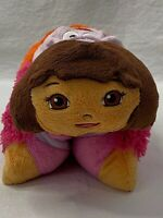 Pee-Wees Pillow Pets Dora The Explorer Plush Stuffed Toy 11""
