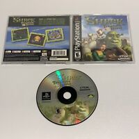 Shrek: Treasure Hunt; Sony PlayStation 1 PS1 - COMPLETE