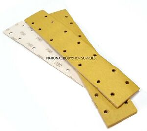 TULDA LONG BED LONG BLOCK SANDING STRIPS P80 / P180 / 70 X 420 / 70 X 198