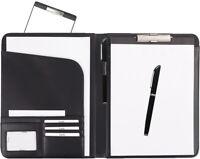 Schreibmappe A4 mit herausnehmbarem Klemmbrett incl. Stift von FIHA-Promotion