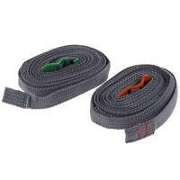 Sangle Durable De Corde De Camping Et Crochet En Acier Inoxydable FE