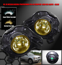 BUMPER DRIVING FOG LIGHTS YELLOW FOR 05-09 FRONTIER/PATHFINDER/07-10 SENTRA SE-R