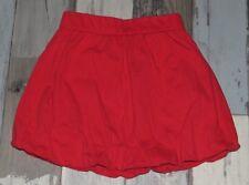 ~ Jupe boule en coton rouge Fille 2/3 ans 92cm ~ MUS71