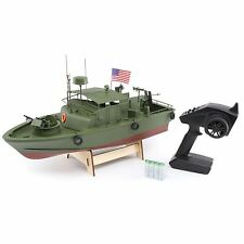 Pro Boat 21-inch Military Alpha Patrol Boat w/ ABS Hull LEDs 60 Amp ESC PRB08027