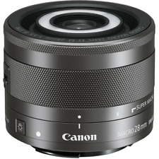 - Canon EF M 28 mm f3.5 MACRO IS STM Lens