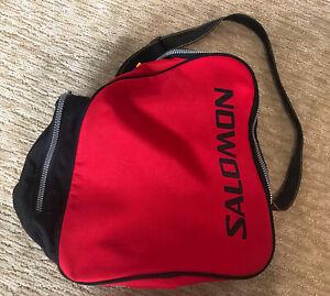 Salomon Snow Ski Snowboarding Athletic Equipment Boot Carrying Bag Red