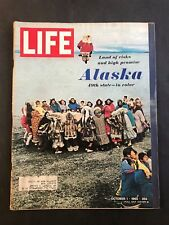 Life Magazine October 1 1965 Alaska The 49th State In Color