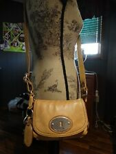 FOSSIL MADDOX SMALL LEATHER FLAP CROSS BODY BAG